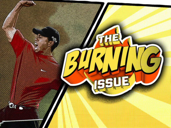 The Burning Issue Episode 006 logo