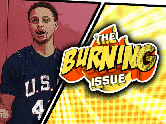 The Burning Issue Episode 013 logo