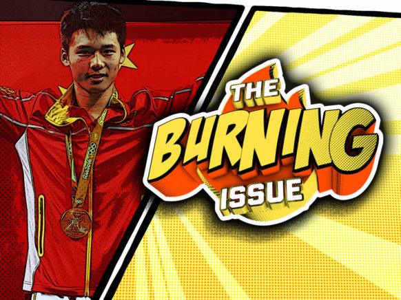 The Burning Issue Episode 014 logo