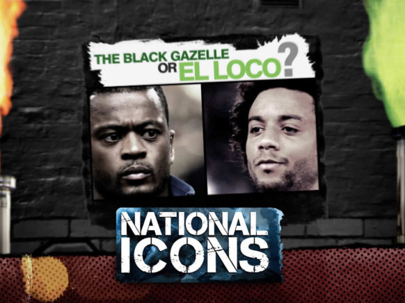 National Icons Episode 019 logo
