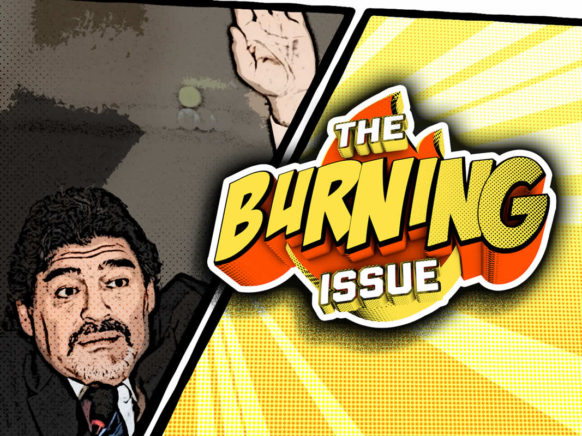 The Burning Issue Episode 001 logo