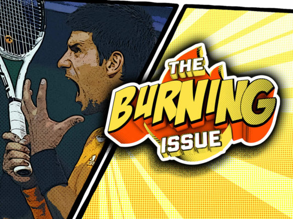 The Burning Issue Episode 002 logo