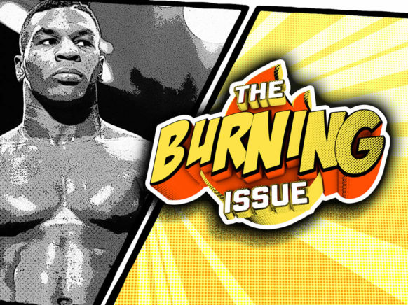 The Burning Issue Episode 004 logo