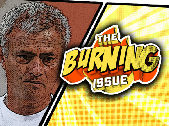 The Burning Issue Episode 005 logo